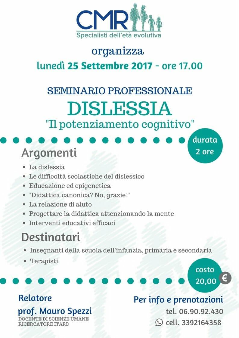 Locandina Seminario Dislessia_Spezzi