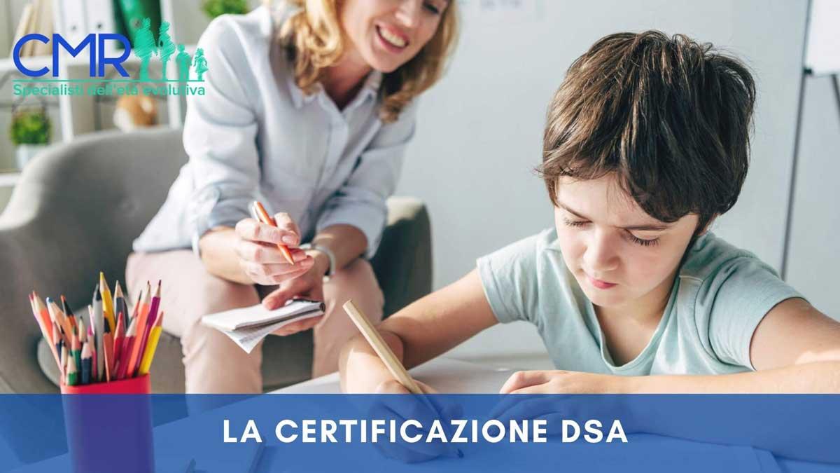 certificazione dsa
